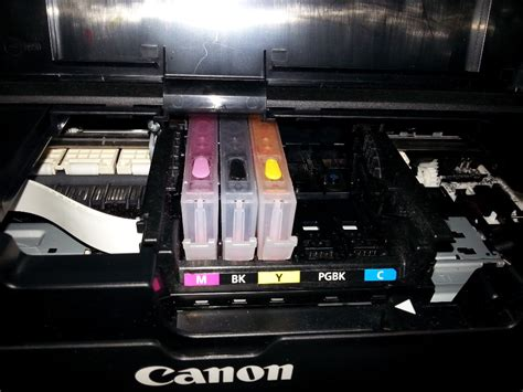 Chip Pisah Autoreset Canon Mg5170 1 Set pgi570 cli571 cartridge with auto reset chip for canon pixma mg5750 mg6850 buy pgi570 cli571