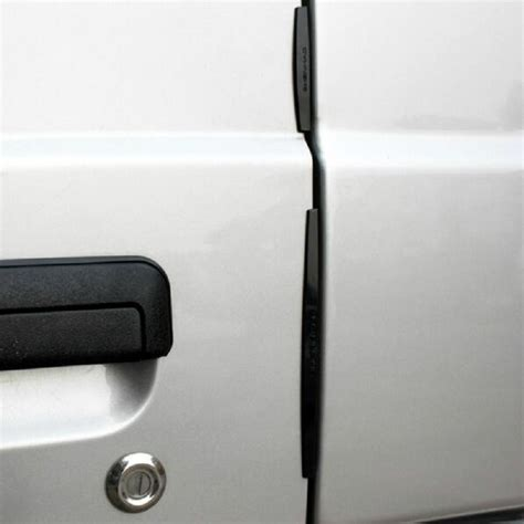 Universal Car Door Edge Guards Trim Molding Protection Transparent Str 8pcs set universal car door edge guards trim molding