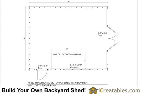 floor plans for sheds 16x20 shed plans with dormer icreatables