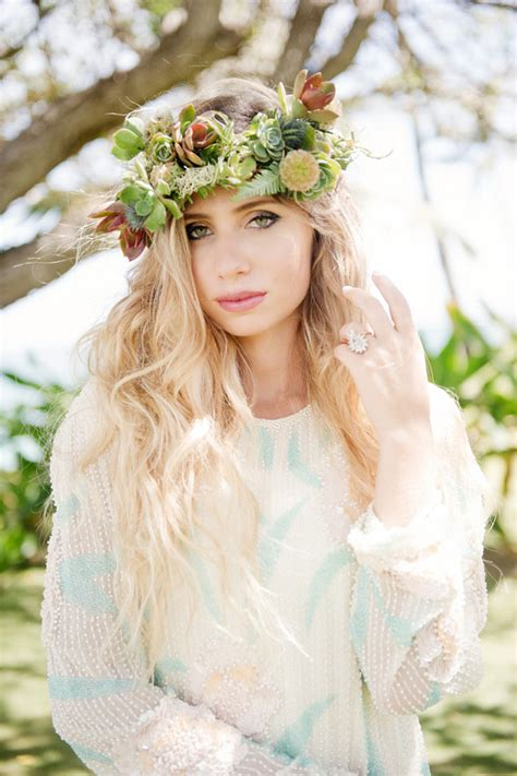 Tropical Wedding Hairstyles by Tropical Bridal Hairstyles And Floral Inspiration 100