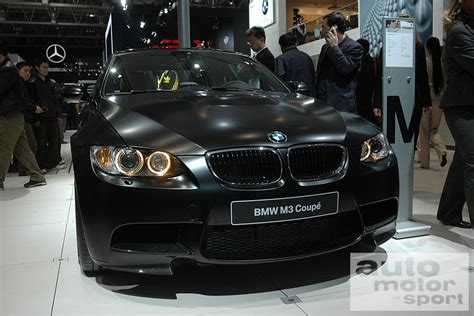 e90 e91 e92 e93 bmw shows frozen matte black paint on m3