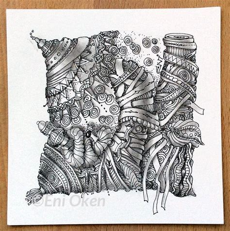 zentangle pattern umble the creative process is so interesting discovering umble