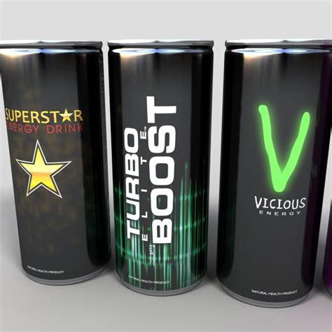 energy drink 3d model 3d model energy drinks