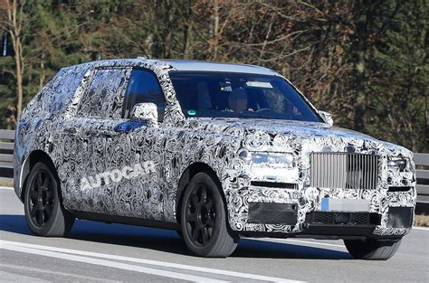 Rolls Royce Suv Rolls Royce Cullinan Suv On Course To Rival Bentayga In