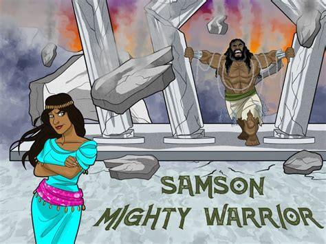 samson mighty warrior bible pathway adventures