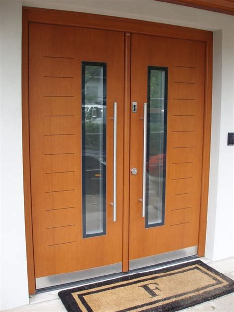 modern front door hardware residence in nj modern entry new york by porta