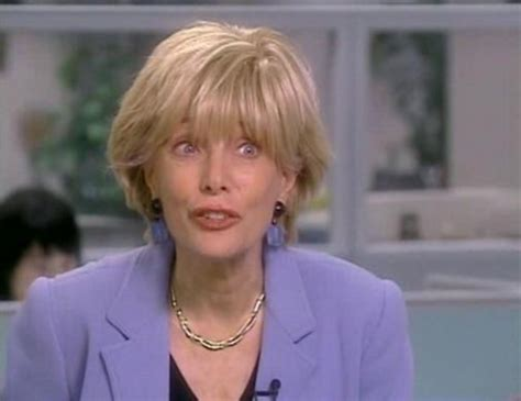 pictures of leslie stahl s hair does leslie stahl wear a wig newhairstylesformen2014 com