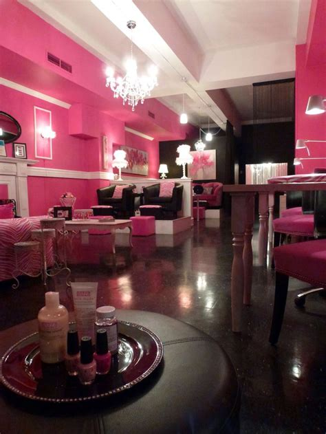 Nail Salon by Nail Spa Pink Salon Salon