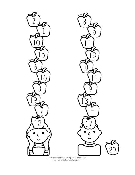coloring pages ten apples up on top ten apples up on top coloring pages coloring pages