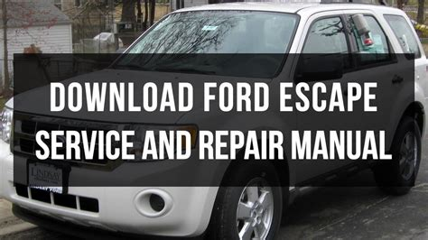 service and repair manuals 2000 ford escape electronic toll collection download ford escape repair and service manual free youtube