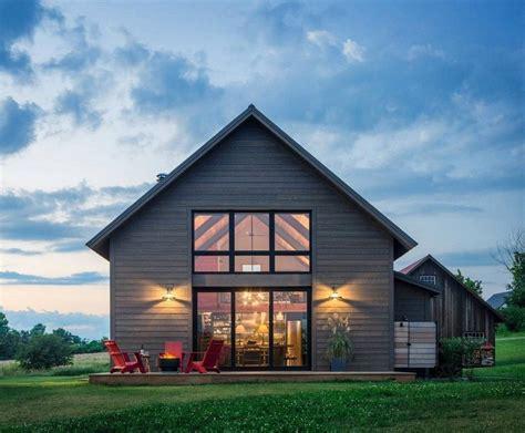 vermont modern barn  joan heaton architects