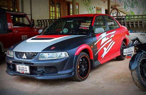 mitsubishi lancer cedia modified beautifully modified lancers of india
