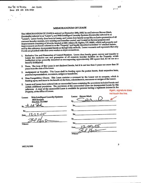 Kier Corp S Crap The Destruction Of A Landmark Questionable Contract Signaturesdecember 29 2005 Contract Signature Template