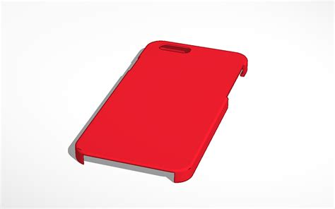 3d Design Iphone 6 Case Template Tinkercad Iphone 6 3d Print Template