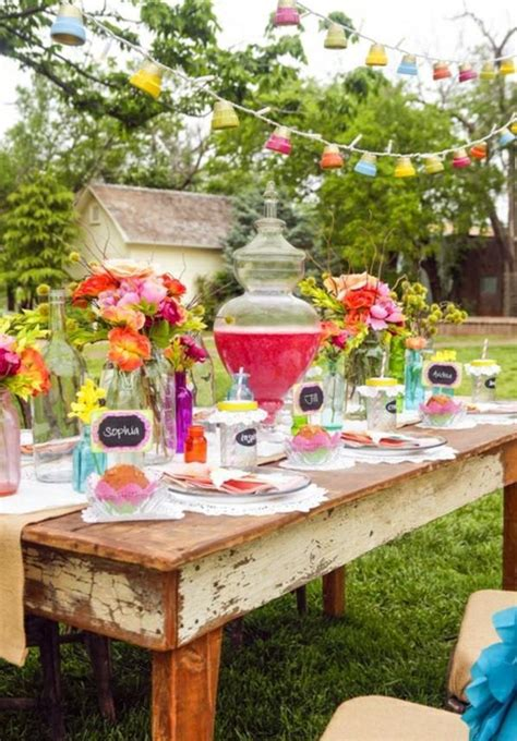 summer decoration 40 garden ideas for your summer party decoration