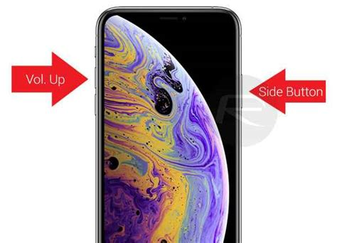 how to take a screenshot on iphone xs xs max and iphone xr