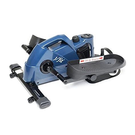 jfit desk stand up mini elliptical stepper w