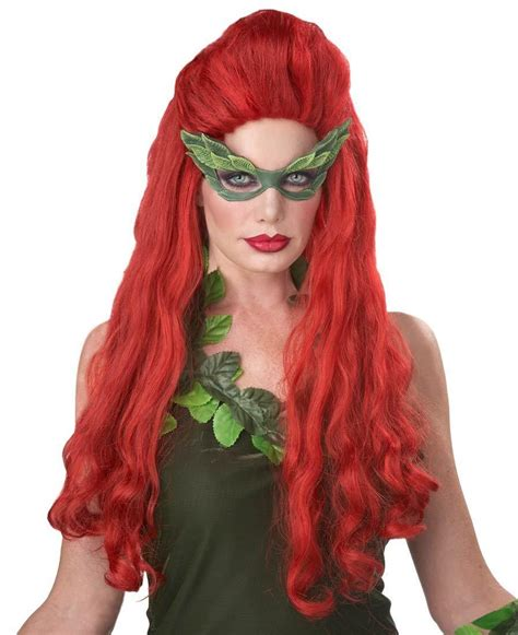 Patial Updo Wigs   lethal beauty adult long red wavy wig with partial updo