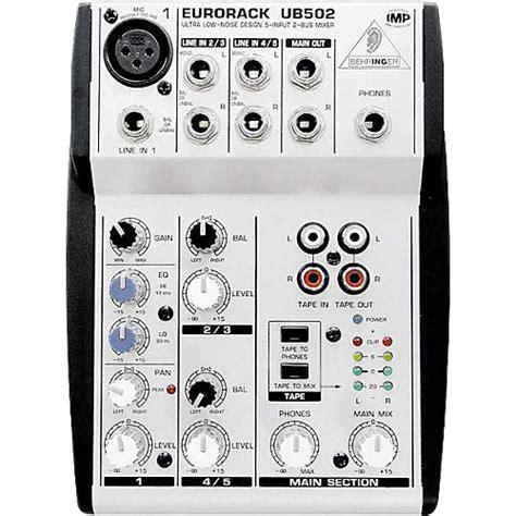 Mixer Behringer Mini behringer eurorack ub502 5 channel compact mixer musician s friend