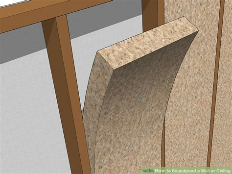 soundproofing existing walls between rooms 3 ways to soundproof a wall or ceiling wikihow