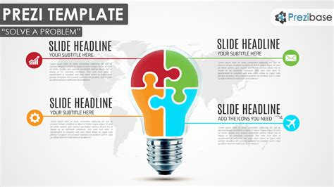 Infographic Diagram Prezi Templates Prezibase Template Ideas