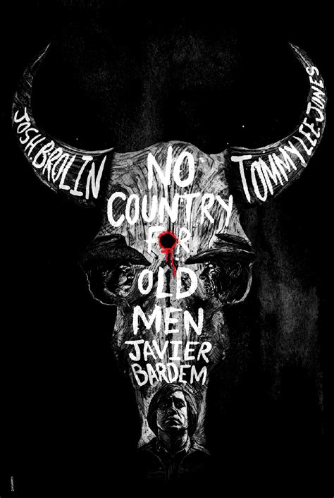 No Country for Old Men Alternative Film Poster on