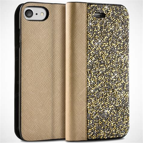 Anyland Swarovsky For Iphone 7g apple iphone h 252 lle strass glitzer diamant klapph 252 lle