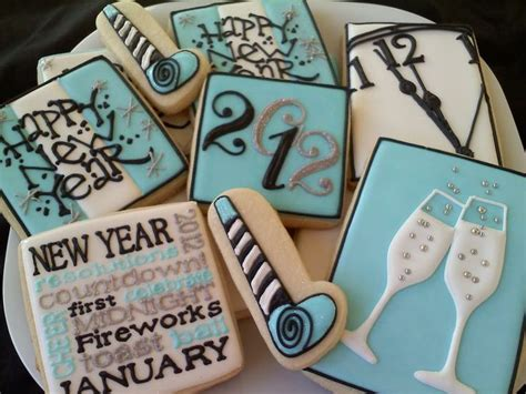 new year cookies new year cookies cookies decorated