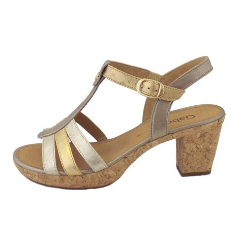 easton sandals gabor sandals easton metallic leather dressy