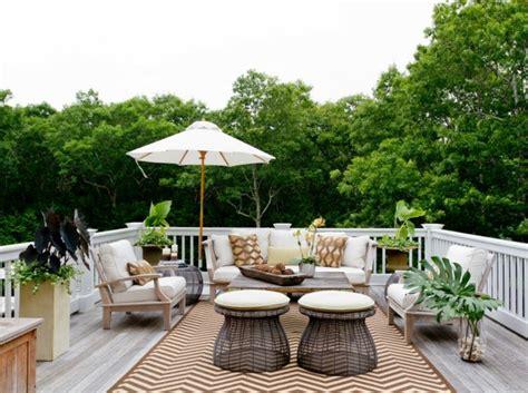 Mobilier de balcon et toit terrasse en 50 idées modernes