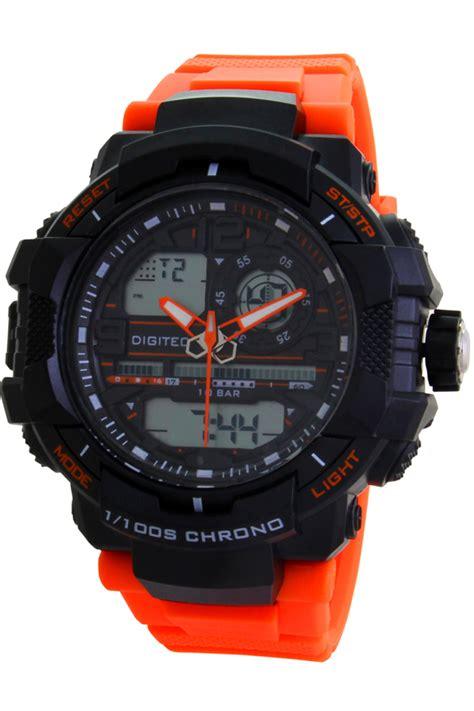 Jam Tangan Pria Digitec Dg 3028 Black List Gold 2 buy 1 get 1 digitec digital dg3021t black org jam tangan pria hitam free swiss army