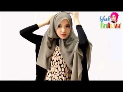 tutorial hijab paris untuk hari raya tutorial hijab paris segi empat spesial hari raya youtube