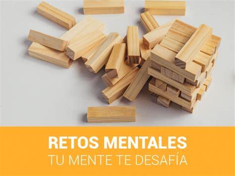 imágenes de retos mentales retos mentales tu mente te desaf 237 a