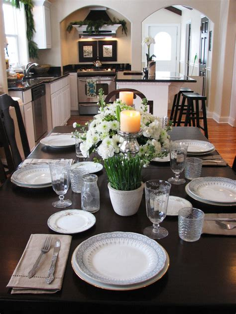 centerpiece ideas for kitchen table kitchen table centerpiece design ideas hgtv pictures