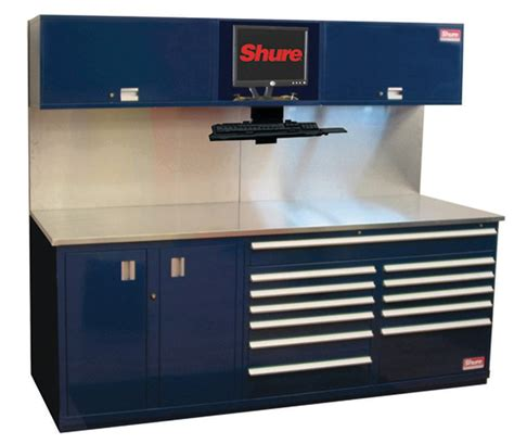 bench service shure mfg corp shuretech bench systems in modular storage