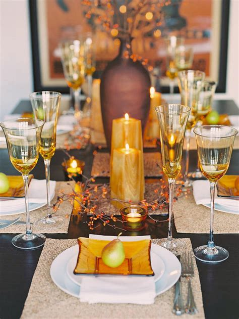 table decor ideas 26 thanksgiving table decorations digsdigs