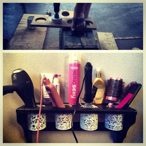 Make Your Own Hair Dryer Diffuser make your own organize hair station salon
