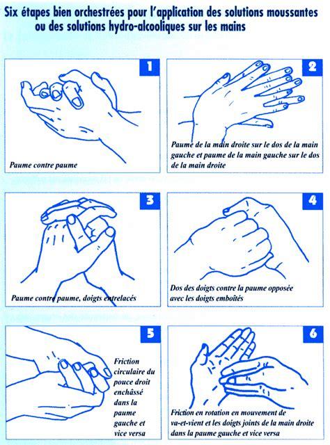protocole de lavage des mains en cuisine lavage des mains