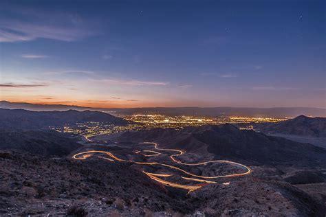 lights palm desert highway 74 vista point palm desert light painting