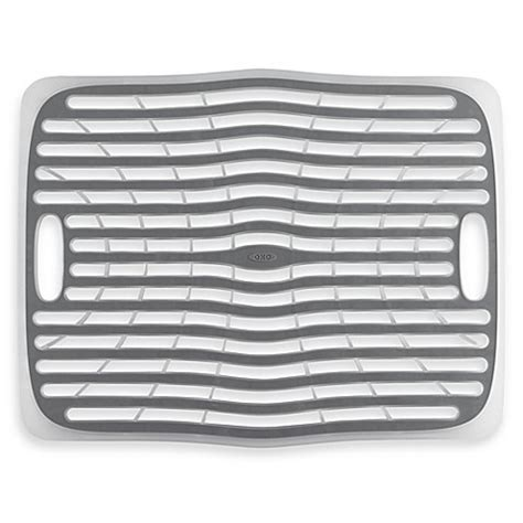 buy plastic kitchen sinks from bed bath beyond buy oxo good grips 174 large kitchen sink mat from bed bath