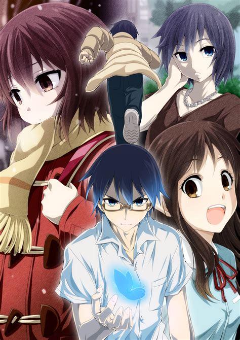 anime otaku reviewers anime introspective erased and the