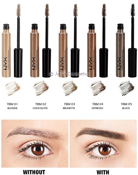 Nyx Tinted Brow Mascara 3 nyx tinted eye brow mascara quot your 3 color quot s