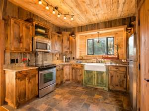 log cabin kitchens with modern and rustic style homestylediary com
