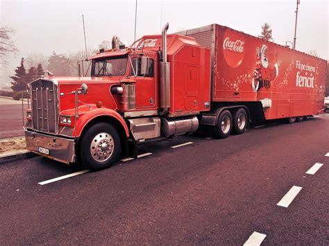 truck santa free photo truck santa claus coca cola free image on