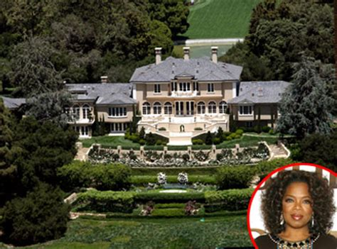 how many houses does oprah have modern home