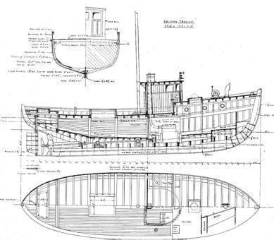 boat sections modeling reference material handbooks drawings photos