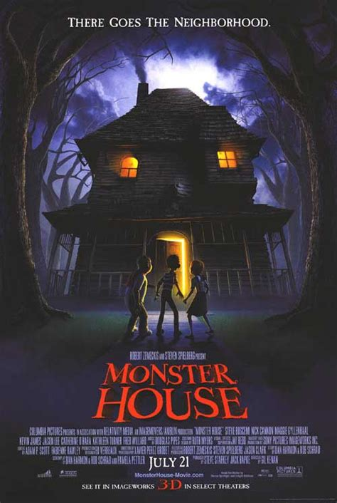 moster house monster house movie posters at movie poster warehouse movieposter com
