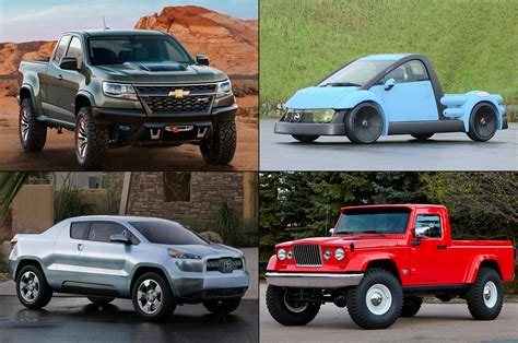 best truck in the best and worst truck concepts that were never built