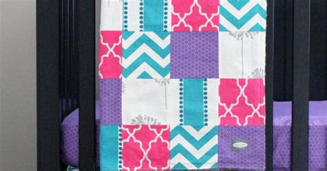 pink and purple crib bedding custom crib bedding purple pink turquoise and by