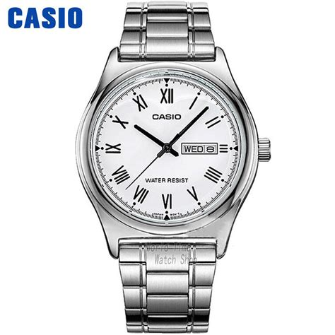 Casio Mtp V006gl 7b In Collection aliexpress buy casio simple fashion waterproof leisure business mtp
